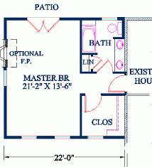 Masterbedroom Floor Plans House Plans Home Plans With Master - Master bedroom plans addition