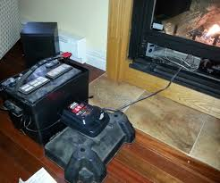 using your propane fireplace during a power outage 4 steps