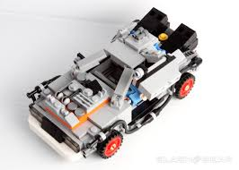 lego honda element back to the future delorean time machine lego review slashgear