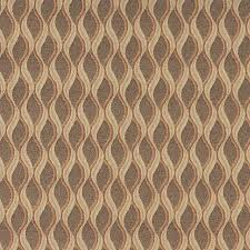 Upholstery Fabric Striped Gold Brown And Beige Wavy Striped Durable Upholstery Fabric By The