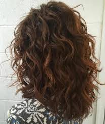 hairstyles with perms for middle length hair best 25 permed hair medium length ideas on pinterest curly