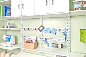 Office Wall Organization System by Organized Living Freedomrail Adjustable Shelving