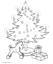 christmas tree coloring pages 008