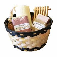 gift hers handmade his and hers spa gift basket set goat s milk honey