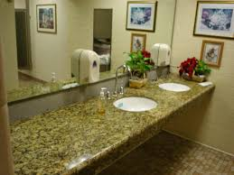 Bathroom Counter Top Ideas Decorating Recommended Santa Cecilia Granite For Countertop Ideas
