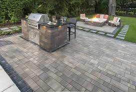 Patio Stones Kitchener Rich Texture Or Smooth Choosing Concrete Pavers For Your