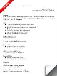 warehouse job description resume sample catering sales manager
