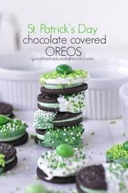diy tutorial lucky chocolate covered oreos free printable
