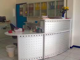 Metal Reception Desk Metal Reception Desk Cat Sodem System