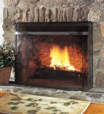 Mesh Curtain Fireplace Screen Choose The Right Fireplace Screen For Your Fireplace