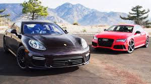 panorama porsche 2014 2014 audi rs7 vs 2014 porsche panamera turbo head 2 head ep 49