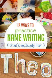 7 best preschool learning to spell name images on pinterest