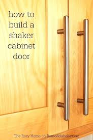 How To Build A Cabinet Door Frame Cabinet Styles Motauto Club