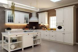 French Country Kitchen Cabinets Photos French Country Kitchen Ideas With Brown Wall Interior Color Decor