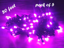 diwali decorative 16 feet led purple light string with controller