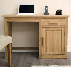Small Computer Desk Arden Solid Oak Furniture Small Computer Desk Amazon Co Uk