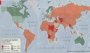 Corruption Map Thomas P M Barnett Blog