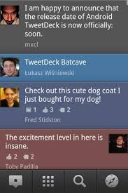 tweetdeck android tweetdeck for android free and software reviews cnet