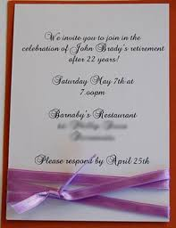 retirement invitation wording baby retirement invitations and ideas for wording