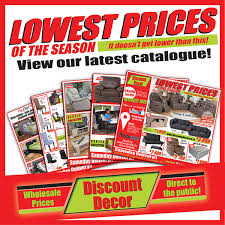discount decor catalogue shop or in store denver jhb