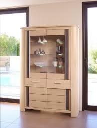 vitrine pour cuisine vitrine 4 portes chene moderne