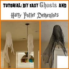 tutorial making ghosts and dementors perfect halloween craft for
