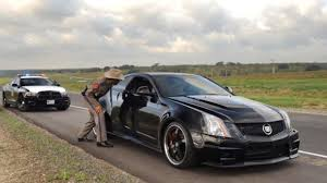 turbo cadillac cts v hennessey drives vr1200 turbo coupe runs 220 5 on