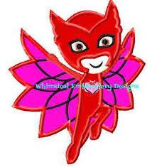 owlette pj masks applique instant download 21 similar