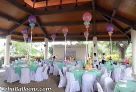 walkway balloons u0026 table centerpieces with letters at city lights