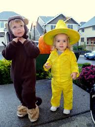 Curious George Halloween Costumes Jerel Mandy Halloween Curious George U0026 Man