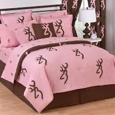 Browning Wall Decor Browning Pink Buckmark Twin Comforter Cabin Bedding Crystal