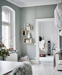 chambre vert gris 1001 idées déco charmantes pour adopter la nuance vert céladon