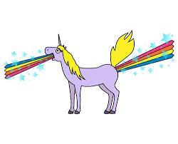 Unicorn Rainbow Meme - rainbows from a unicorn tshirtvortex