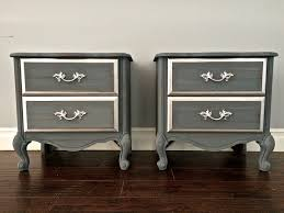 Silver Leaf Nightstand Nightstand Silver Nightstand Awesome Shabby Chic Gray Silver