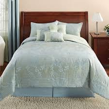 Queen Comforter Sets Discontinued Mainstays Sage Botanical 7 Piece Bedding Comforter