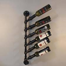 steel wall mounted wine racks u0026 bottle holders ebay