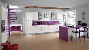 Purple Kitchen Decorating Ideas Simrim Com Red Kitchen Design Pictures
