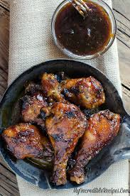 sticky sweet bacon glazed chicken in the crock pot