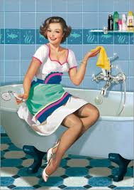 Bathtub Pinup Pin Up Prints U0026 Posters From 6 90 Free Delivery Posterlounge
