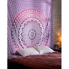 d馗oration indienne chambre ombre tapisserie indienne decoration murale hippie bohème