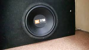 jbl home theater subwoofer bass test of jbl 1150 watts sub youtube