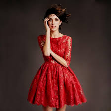red dresses for teenagers lace naf dresses