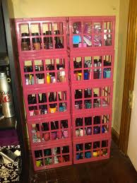 diy nail polish storage solution pounds4polish