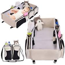 portable diaper changing table 3 in 1 portable infant baby bassinet diaper bag changing station