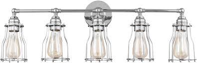 Feiss VSCH Calgary Modern Chrome Light Bathroom Lighting - Bathroom lighting fixtures chrome
