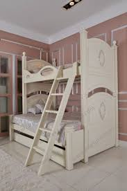 latest italian kid double deck bunk bed furniture room set wooden