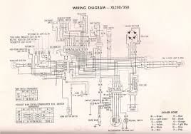 honda xl 250 wiring diagram honda wiring diagrams instruction