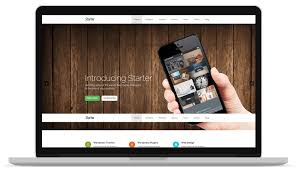 bootstrap themes free parallax 35 best free one page parallax wordpress themes 2018