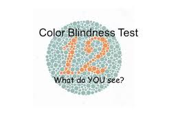 Blue Color Blind Test Colour Blindness Test Ppt Download