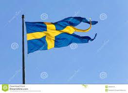 swedish naval flag stock photo image 40839138